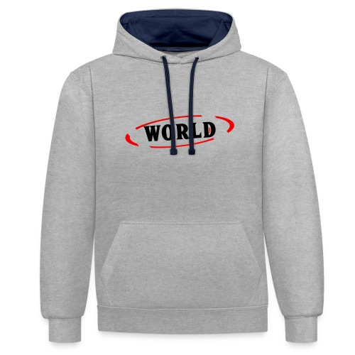 World Vibes - Sweat-shirt contraste