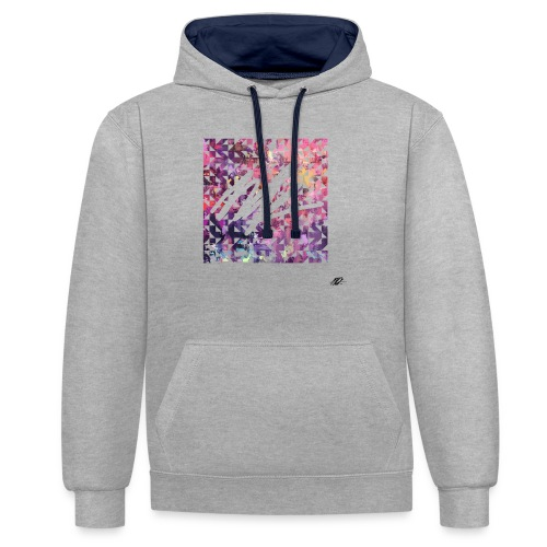Pixl'ink by NSKdsign - Sweat-shirt contraste