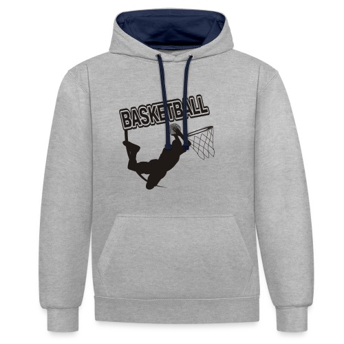 Le basket ball - Sweat-shirt contraste