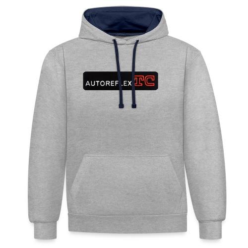 Autoreflex TC - Felpa con cappuccio bicromatica