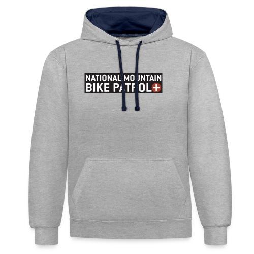 National Mountain Bike Patrol - Kontrast-Hoodie