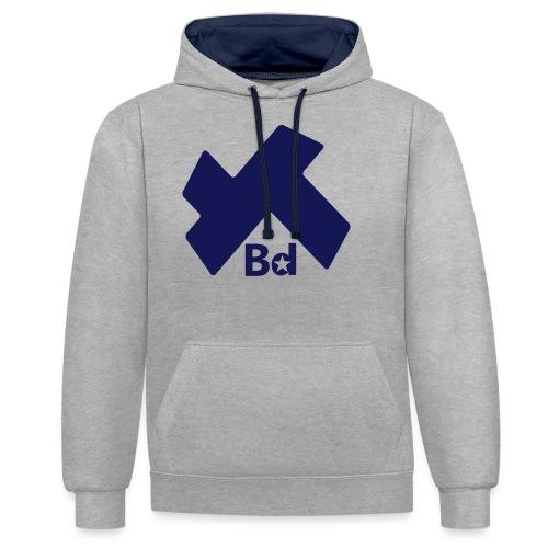 KKBD - Sweat-shirt contraste