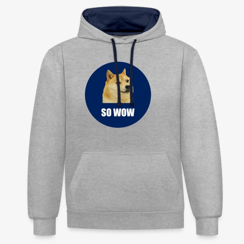 SOWOW - Contrast Colour Hoodie