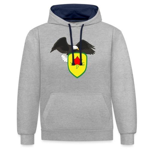 Mens Support YPG Hoodie - Kontrastihuppari