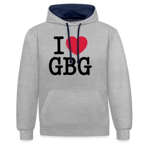 I love GBG - Kontrastluvtröja