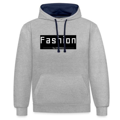 fashion kombo - Contrast hoodie