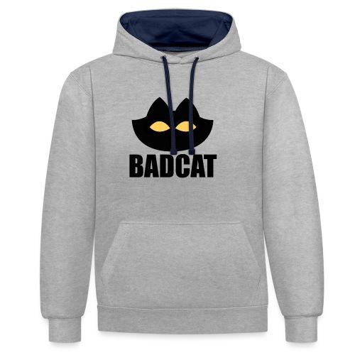 BADCAT - Contrast hoodie