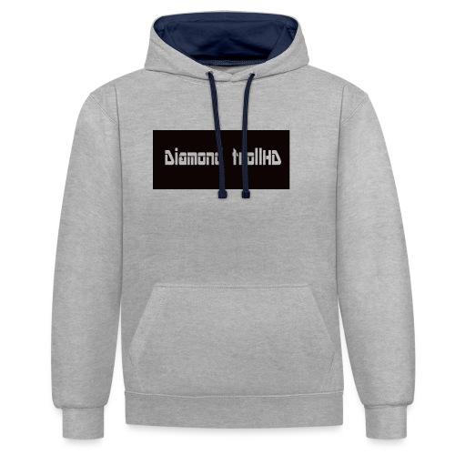 DTmerchandise - Contrast Colour Hoodie