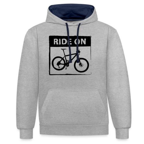 Ride On MTB 1 Color - Kontrast-Hoodie
