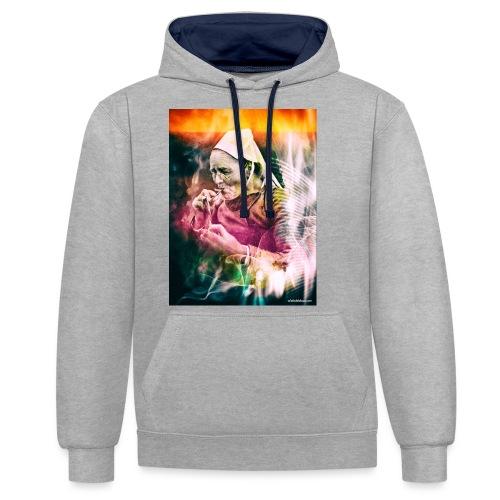 fumeuse bretonne - Sweat-shirt contraste