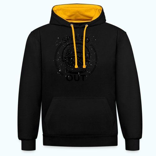 Space Out - Contrast Colour Hoodie