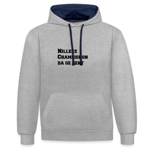 Nilleke Streetwear - Contrast hoodie