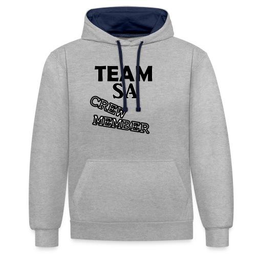 Team SA Crew Member Logo - Kontrastluvtröja