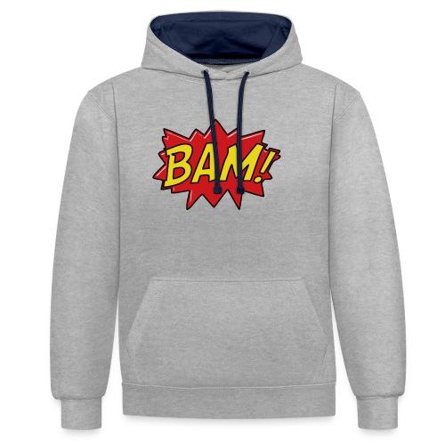bamtamelijk - Contrast hoodie