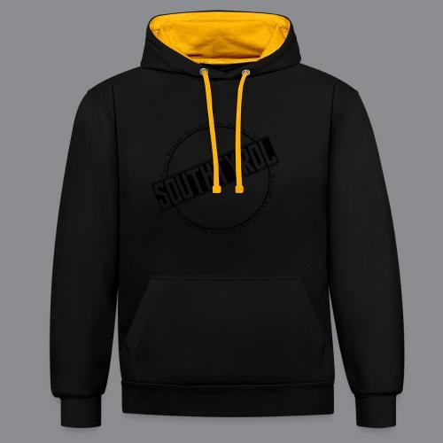 SouthTyrol Kreisform - Kontrast-Hoodie