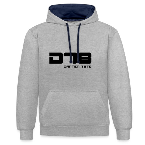 DT8 Project - Contrast Colour Hoodie