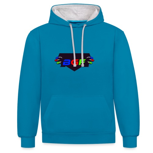 The BGF's ARMY logo! - Contrast Colour Hoodie
