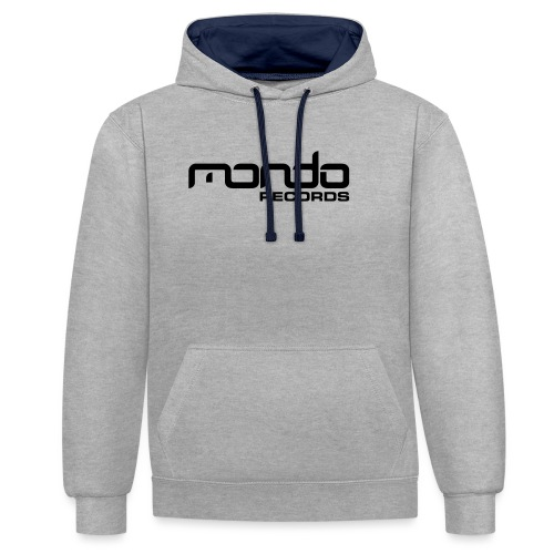 Mondo Records - Contrast Colour Hoodie