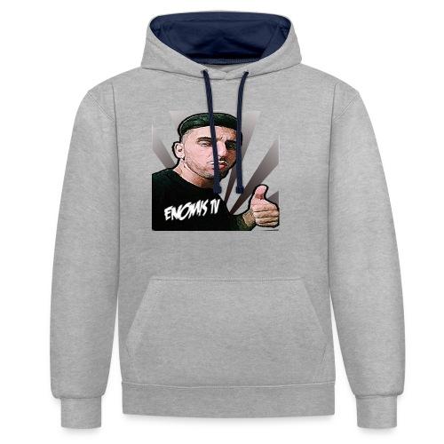 Enomis t-shirt project - Contrast Colour Hoodie