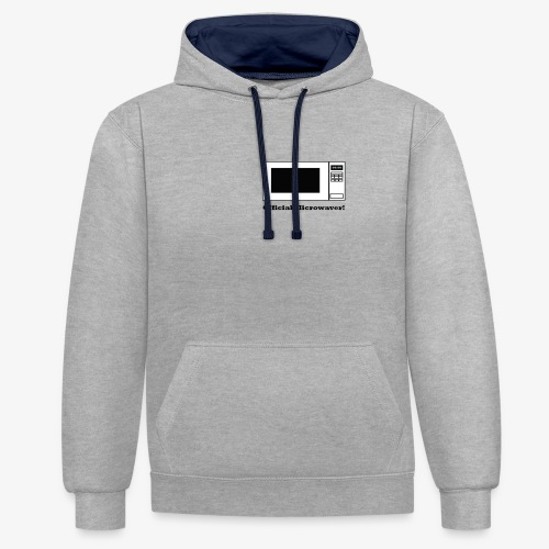 Official Microwaver! - Contrast Colour Hoodie