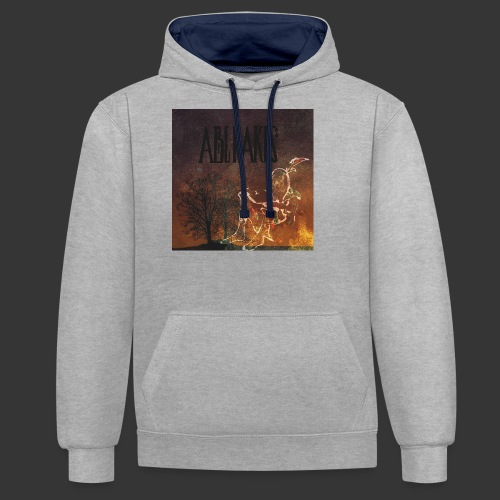 Visuel CD ABENAKIS - Sweat-shirt contraste