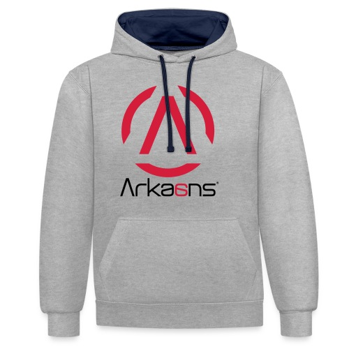 Arkaans Global - Sweat-shirt contraste