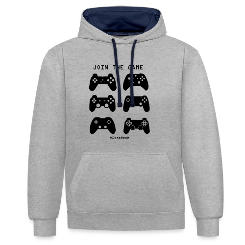 Join The Game - Contrast Colour Hoodie