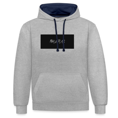 Finley plays merch - Contrast Colour Hoodie