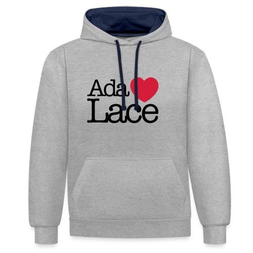 Ada Lovelace - Contrast Colour Hoodie