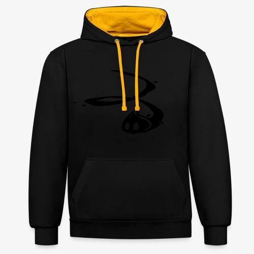 Ink Splat - Contrast hoodie