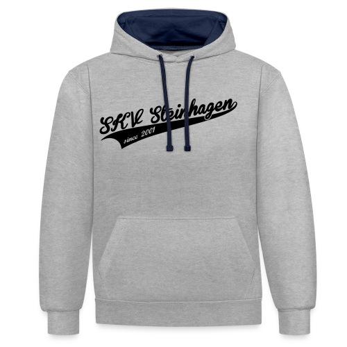 SKV Schriftzug - Kontrast-Hoodie