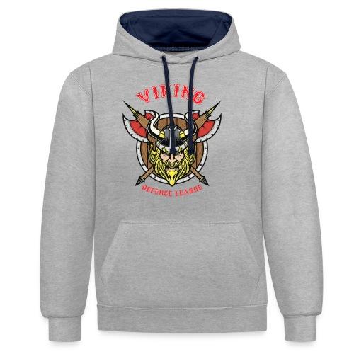 Viking League - Contrast Colour Hoodie