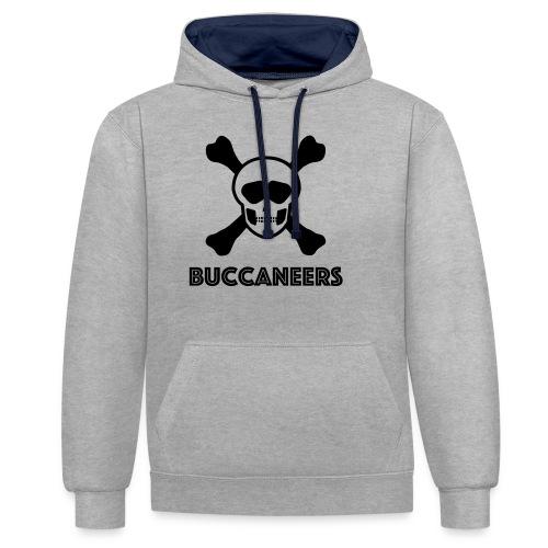 Buccs1 - Contrast Colour Hoodie