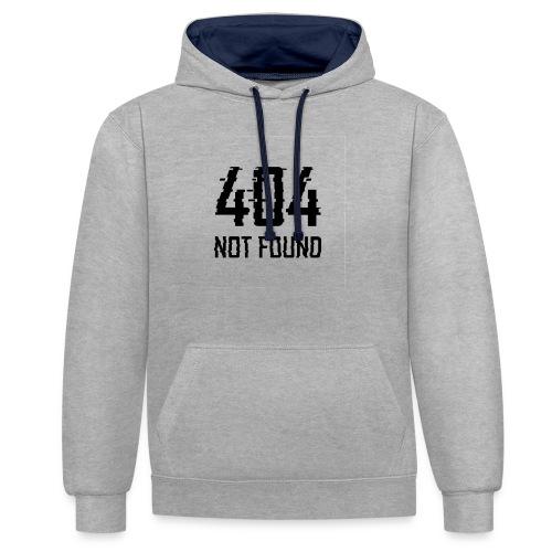 Fault 404 - Sweat-shirt contraste