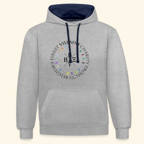 BVBE Charity Projects - Contrast Colour Hoodie