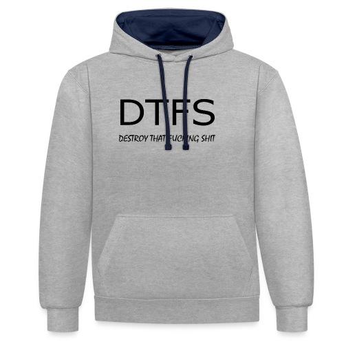 DeThFuSh - Contrast Colour Hoodie