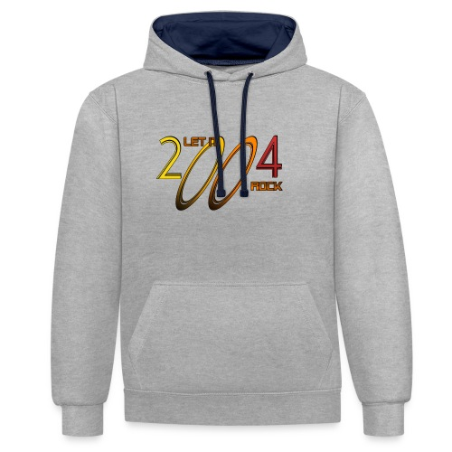 Let it Rock 2004 - Kontrast-Hoodie