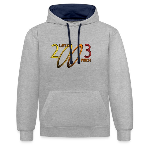 Let it Rock 2003 - Kontrast-Hoodie