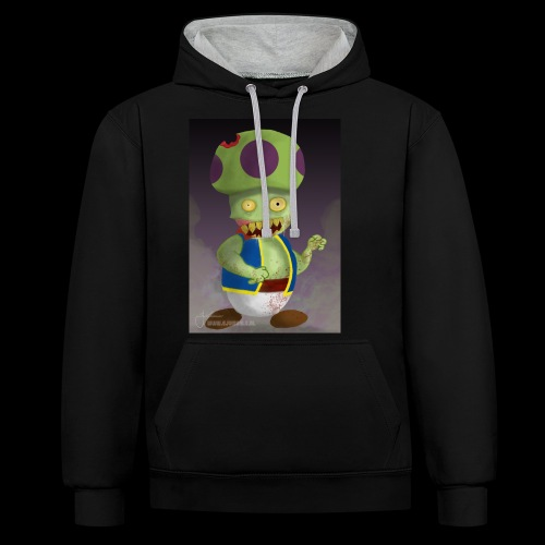 SuperMario: Zombie Toad - Contrast hoodie