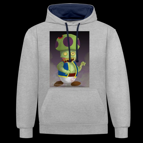 SuperMario: Zombie Toad - Contrast hoodie