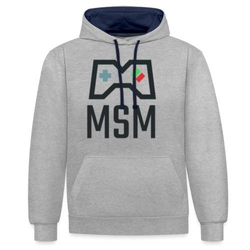 MSM GAMING CONTROLLER - Kontrast-hættetrøje
