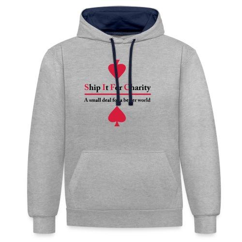 Ship It For Charity - Kontrastluvtröja