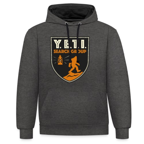 Blason Yeti Search Group - Sweat-shirt contraste