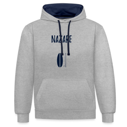 Nazare - Contrast Colour Hoodie