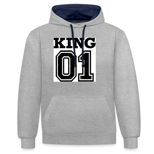 King 01 - Sweat-shirt contraste
