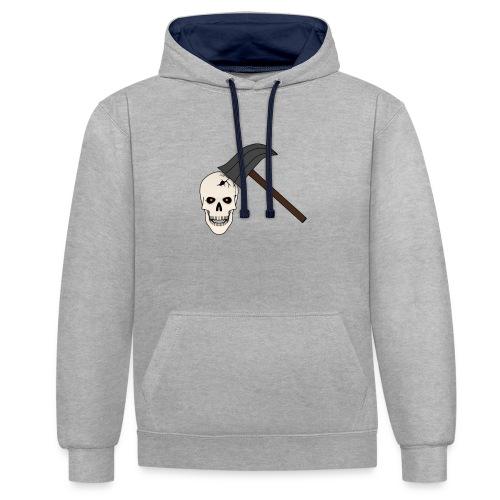 Skullcrusher - Kontrast-Hoodie