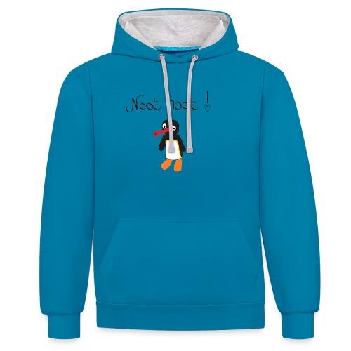 NOOT NOOT x3 - Contrast hoodie