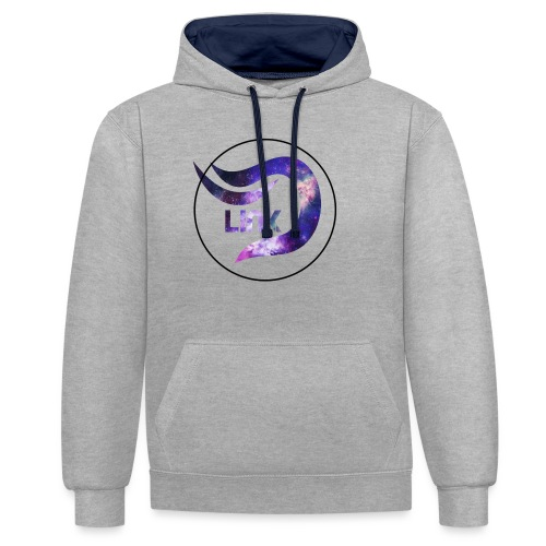 Daza Link Galaxy Theme Merchandise - Contrast Colour Hoodie