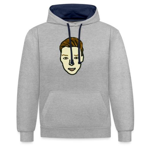 Luukjeh - Contrast hoodie