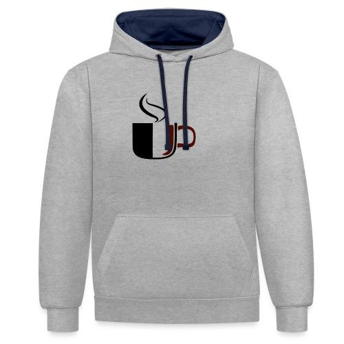 JU Kahvikuppi logo - Kontrastihuppari